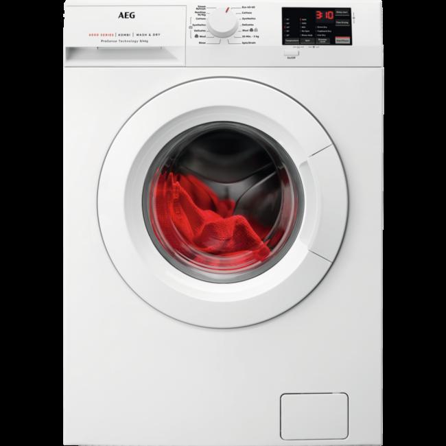 AEG L6WEJ841N 8kg/4kg 1600 Spin Washer Dryer 2 Year Warranty
