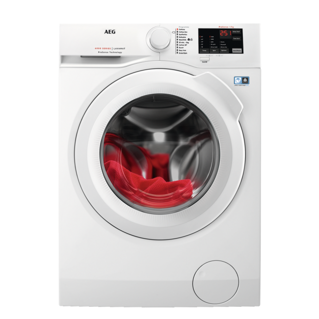 AEG L6FBI741N 7kg 1400 Spin Washing Machine - White - A+++ ----2 Year Warranty