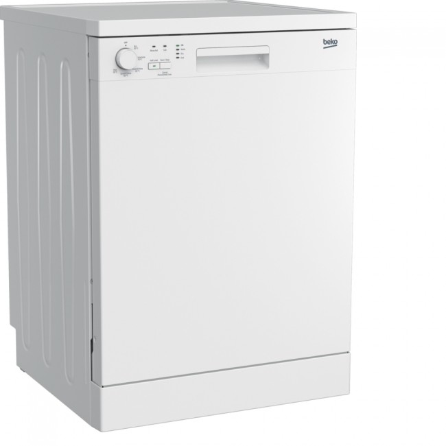 Beko DFN05320W Full Size Dishwasher - 13 Place Settings