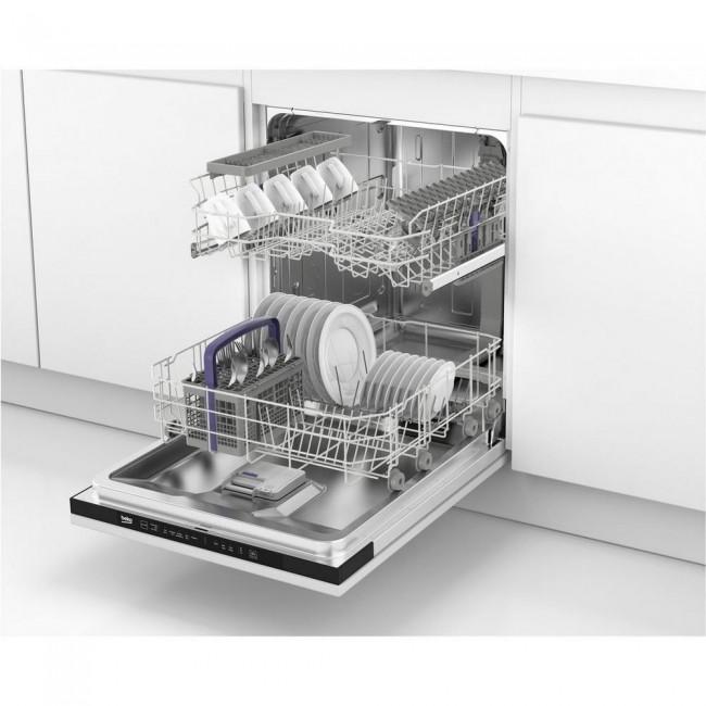 Beko DIN15C10 Integrated Full Size Dishwasher