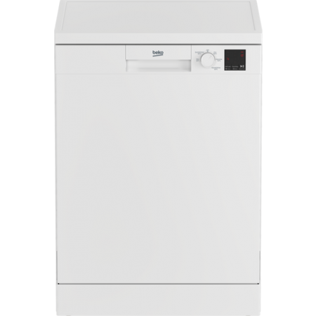 Beko DVN05C20W Full Size Dishwasher - White - A++