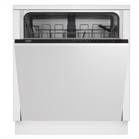Beko DIN15322 Integrated Full Size Dishwasher - White - 13 Place Settings
