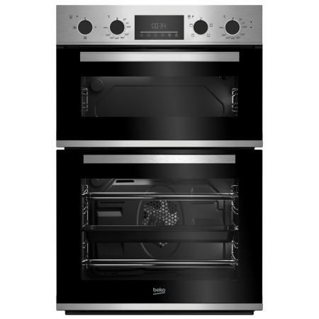 Beko CDFY22309X Built In Electric Double Oven--2 Year Warranty