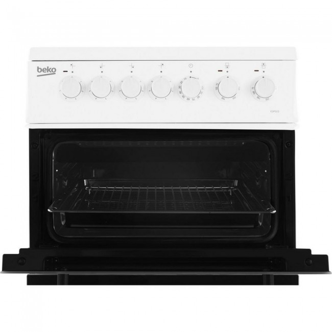 Beko EDP503W Electric Double Oven with grill Double Oven Cooker - White
