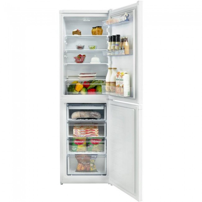 Beko CCFM1582W 55cm Frost Free Fridge Freezer - White