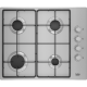 Beko CIHYG21SX 61cm Gas Hob - Stainless Steel-2 year Warranty