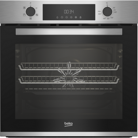 Beko CIFY81X Built In Electric Single Oven - Stainless Steel-2 Yr Warranty