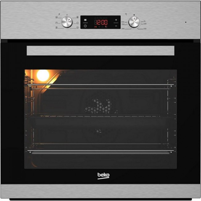 Beko CIM91X Built In Electric Single Oven - Stainless Steel - A Rated 2 Yr Warranty
