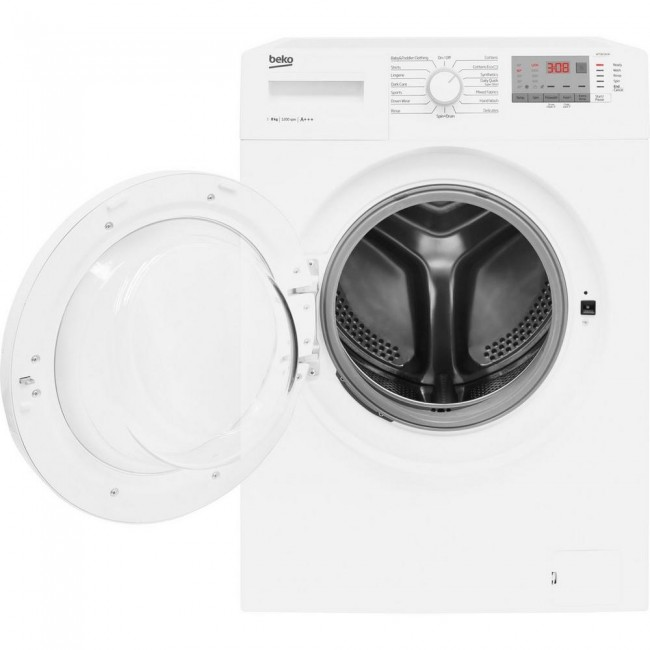 Beko WTG821B2W 8kg 1200 Spin Washing Machine