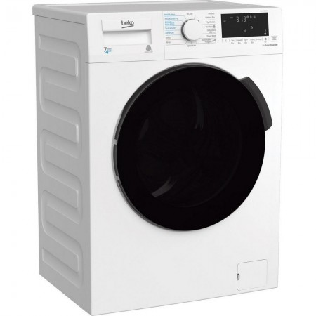 Beko WDB7426S1CW 7kg/4kg 1200 Spin Washer Dryer - White - B Energy Rated