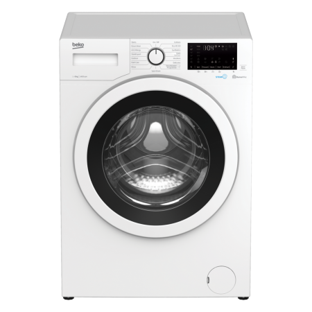 Beko WEC840522W 8kg 1400 Spin Washing Machine - White - A+++