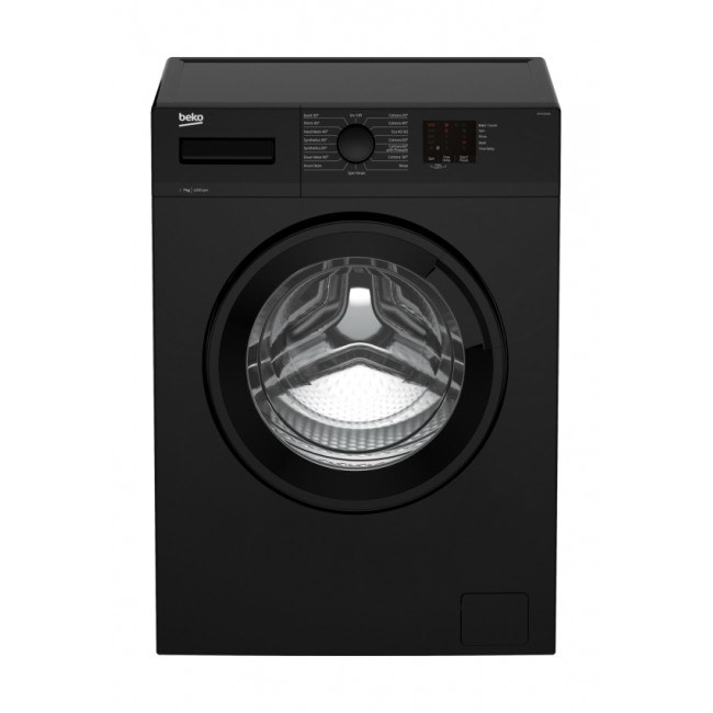 Beko WTK72041B 7kg 1200 Spin Washing Machine - Black - A++