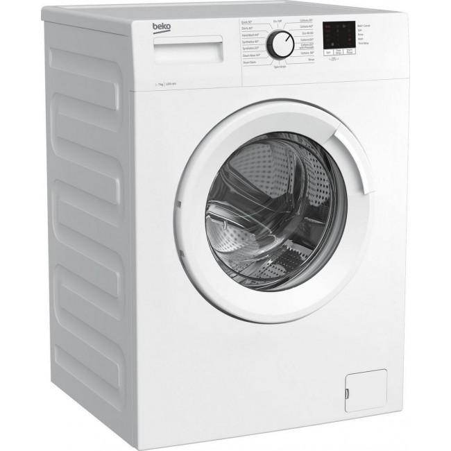 Beko WTK72042W 7kg 1200 Spin Washing Machine with Quick Programme