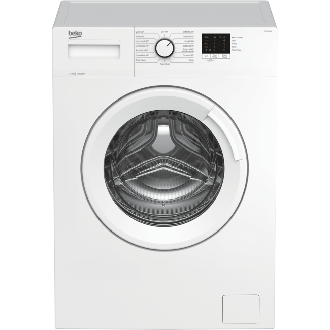 Beko WTK72041W 7kg 1200 Spin Washing Machine - White - A+++