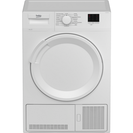 Beko DTLP81141W 8kg Heat Pump Tumble Dryer - White - A+