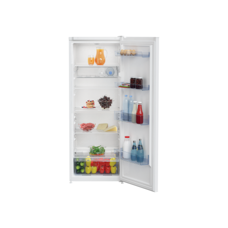 Beko LCSM3545W Tall Larder Fridge - White - A+