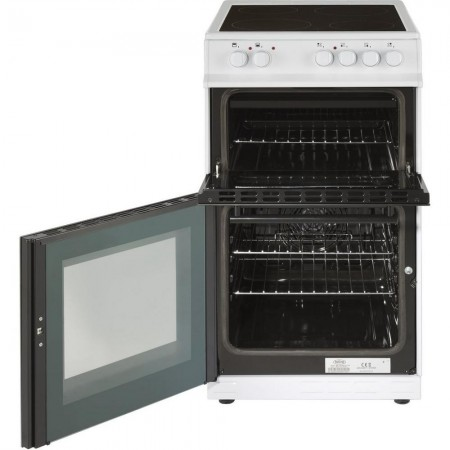 Belling FS50EDOFCWHI 50cm Electric Double Oven with Ceramic Hob