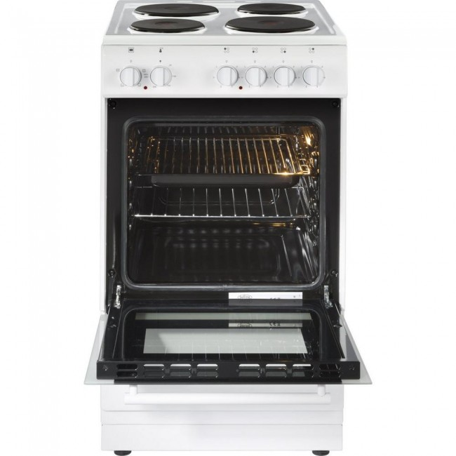 Belling FS50ESWHI 50cm Electric Single Oven with Solid Plate Hob  3 yr warranty