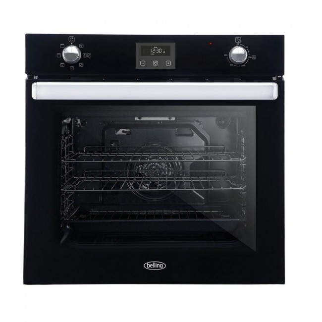 Belling BI602FPCTBLK Electric  Single Oven - Black -3 Year Warranty
