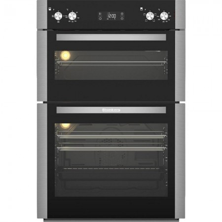 Blomberg ODN9302X Built In Electric Double Oven - Stainless Steel-5yr Warranty