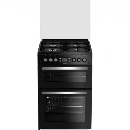 Blomberg GGN64Z 60cm Double Oven Gas Cooker - Black 3 yr Warranty