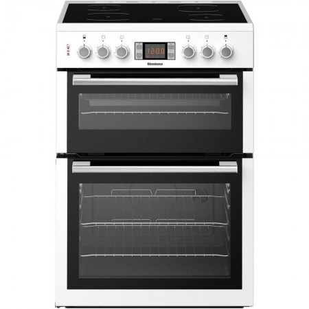 Blomberg HKN64W 60cm Double Oven Electric Cooker 3 Yr Warranty