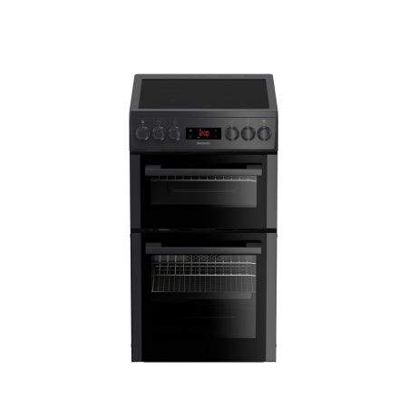 Blomberg HKS951N 50cm Double Oven  Cooker - Anthracite-3 Yr warranty