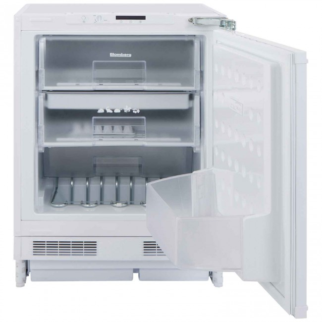 Blomberg FSE1630U Integrated Static Freezer - 5 Year Warranty