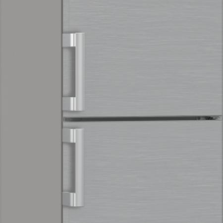 Blomberg KGM4553PS Frost Free Fridge Freezer - Stainless Steel - A+--3 Year Warranty