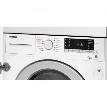 Blomberg LRI285411 Integrated 8kg/5kg 1400 Spin Washer Dryer 5 year  Warranty