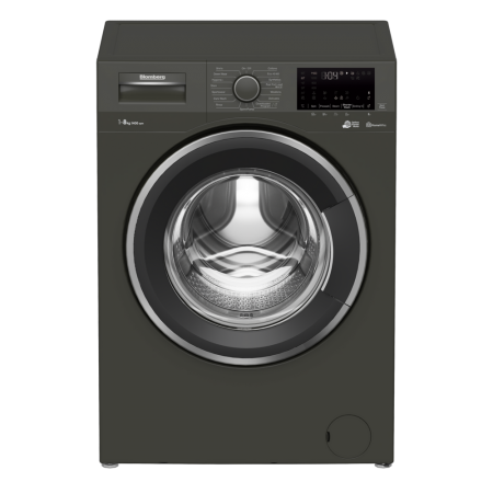 Blomberg LWF184420G 8kg 1400 Spin Washing Machine - Graphite - A+++  3 year Warranty