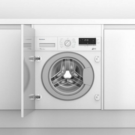 Blomberg LWI284410 8kg 1400 Spin Built In Washing Machine - White - A+++ 5 Year Warranty