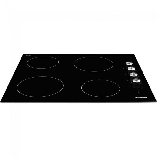 Blomberg MKN24001 60cm Ceramic Hob - Black-  5 year Warranty