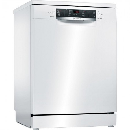 Bosch SMS46MW02G Full Size Dishwasher with VarioDrawer Tray - 2 Yr Warranty