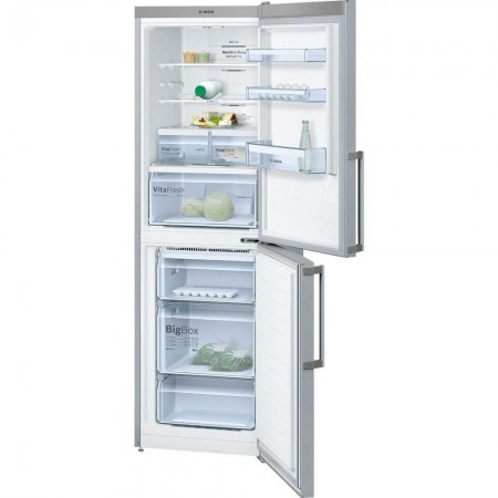 BOSCH KGN34XL35G  Fridge Freezer - Stainless Steel look - A++ 5 Yr Warranty