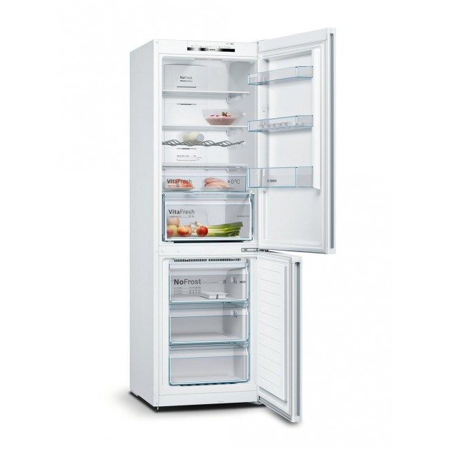 Bosch KGN36VWEAG Frost Free Fridge Freezer - White - A++ Energy Rated 2 Year Warranty