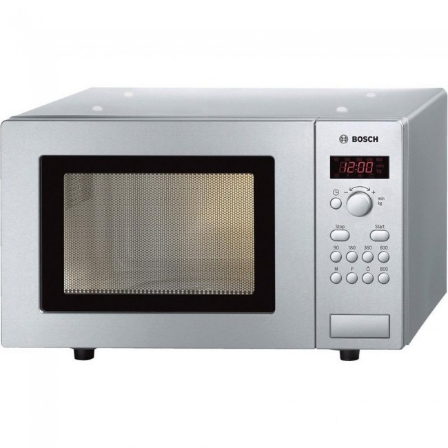 Bosch HMT75M451B 17 Litre Microwave - Stainless Steel-2 year Warranty