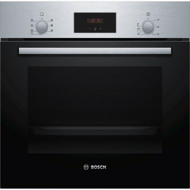 Bosch HBF113BR0B Built In Electric Single Oven - Stainless Steel - A Rated-2 year warranty