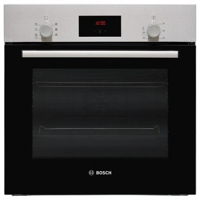 Bosch HBF113BR0B Built In Electric Single Oven - Stainless Steel - A Rated 2 Year Warranty