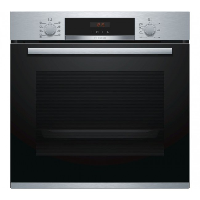 Bosch HBS573BS0B  Electric Single Oven with 3D Hot Air - Stainless Steel--5Yr Warranty