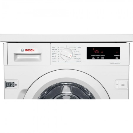 Bosch WIW28301GB Integrated 8kg 1400 Spin Washing Machine - White - A+++ 2 year Warranty