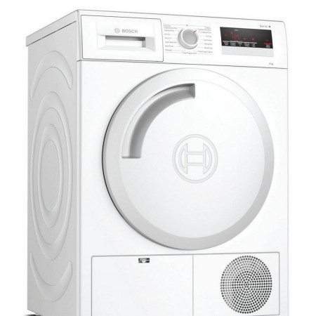 Bosch WTN83201GB 8kg Condenser Tumble Dryer - White - B Rated   2 Yr Warranty