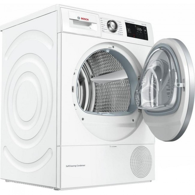 BOSCH WTWH7660GB Selfcleaning  Heat Pump Dryer - White - A++ 5 Yr Warranty