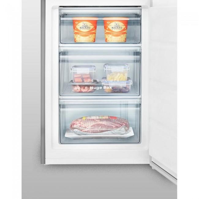 Hisense FV105D4BC2 Under Counter Freezer - Stainless Steel Effect- 5 Year Warranty