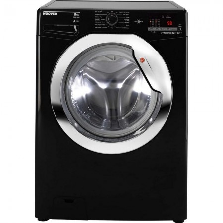 Hoover DXOC58C3B 8kg 1500 Spin Washing Machine Black
