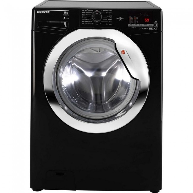 Hoover DXOC58C3B 8kg 1500 Spin Washing Machine Black