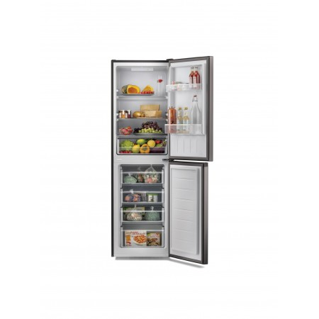 Hoover HMCL5172BIN Low Frost Fridge Freezer - Black - A+ Energy Rated
