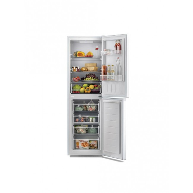 Hoover HMCL5172WKN Low Frost Fridge Freezer - Silver- A+ Energy Rated