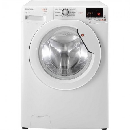 Hoover WDXOC4106A 10kg/6kg 1400 Spin Washer Dryer - White - A Energy Rated