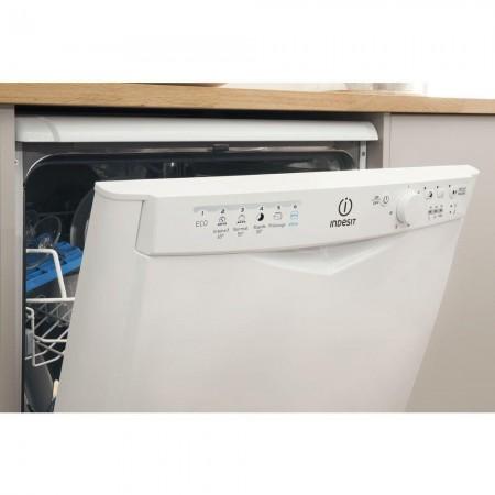 Indesit DFG15B1 13 Place Settings Full Size Dishwasher - White - A+